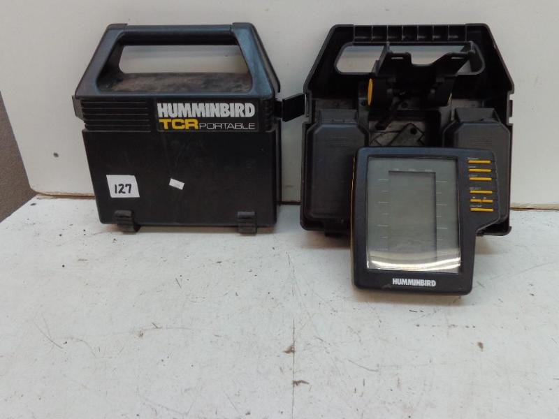 humminbird tcr portable 101 depth f | april tool auction | k-bid, Fish Finder