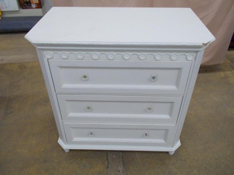 Simply Shabby Chic 3 Drawer Chest