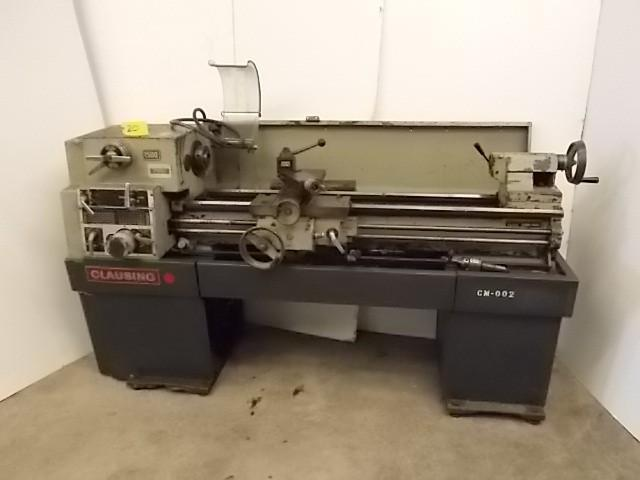 Clausing 1500 Engine Lathe, 15"