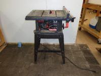 "10"" Craftsman Table Saw Model ..."