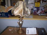 Gold Table Lamp...