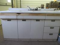 "68"" Vintage Steel Kitchen Cubp..."