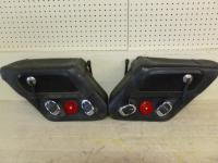 A pair of Harley Davidson leather s...