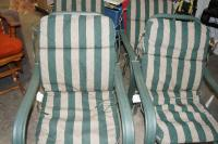 Set of Four Patio Chairs