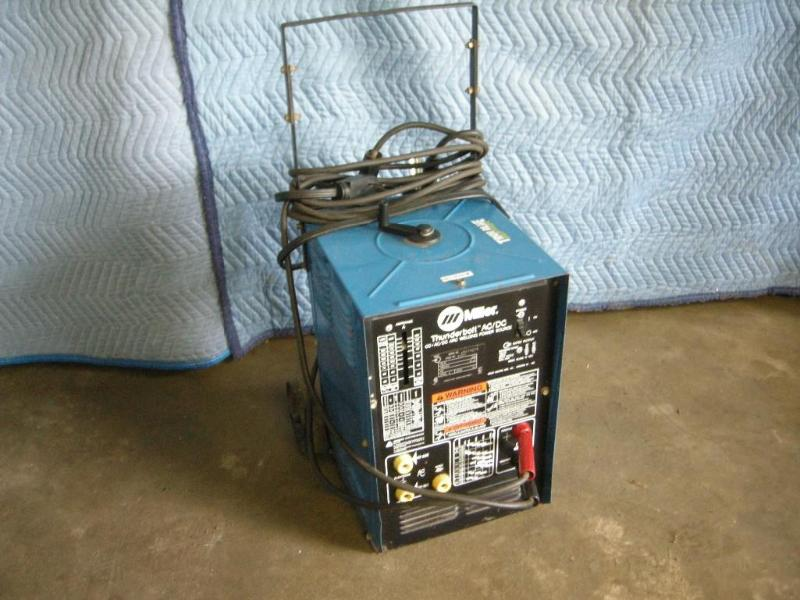 Miller Arc Welder >> Miller Thunderbolt Ac Dc Arc Welder Antiques Tools Ammo