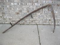 Antique Scythe About 5 Feet In Leng...