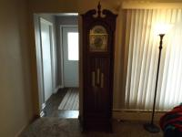 Handcrafted grandfather clock by Cl...