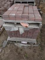 Cambridge 1/2 Square Pavers. 1 pall...