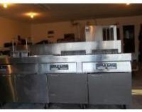 Frymaster Commercial fryer. 3 ...
