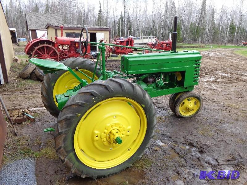 W30 Tractor Clutch : May tractors auction k bid