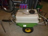 Pull behind lawn sprayer. 20 - 25 g...