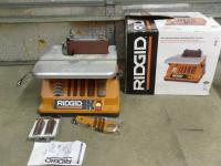 Ridgid Oscillating Edge Belt &...