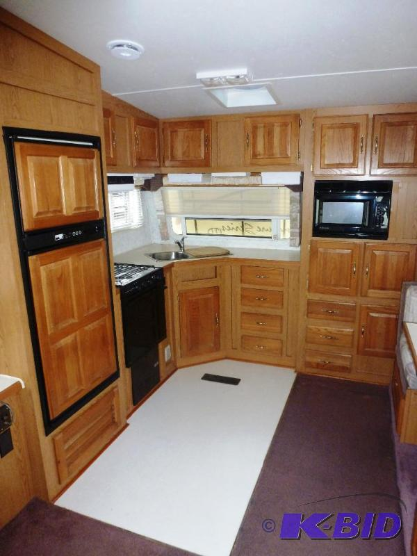 1997 Thor Signature Ltd 28rk Rear Kitchen 5th Wheel Camper