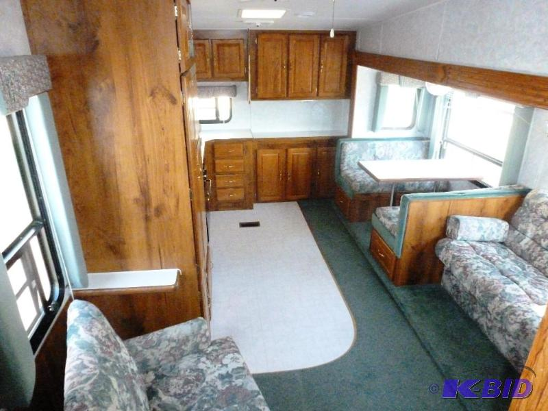 Wheel And Tire >> 1999 Forest River Sandpiper 5th Wheel Camper 27RKSS Rear ...