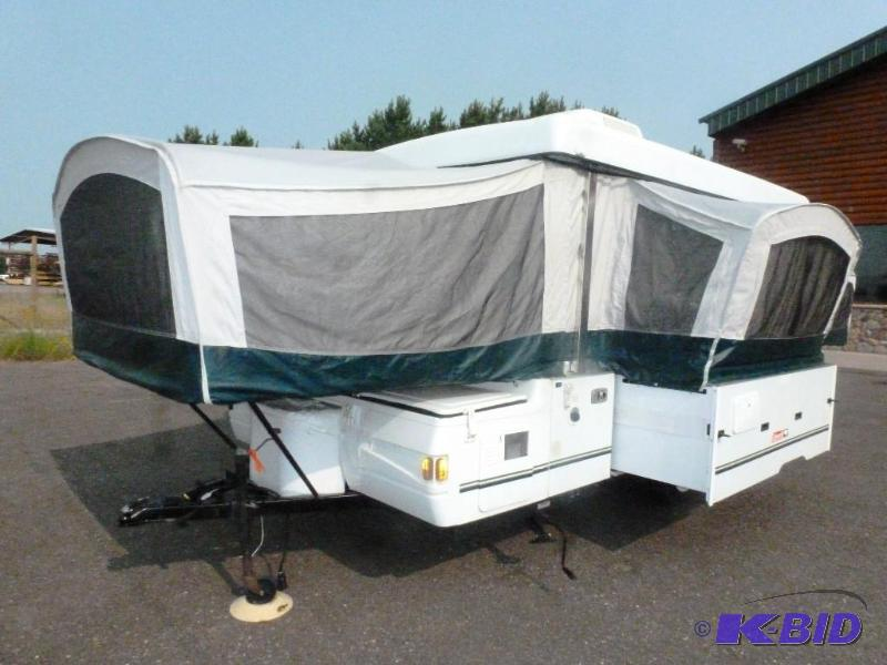 2002 Coleman Bayside Pop Up Camping Trailer With Slide Out