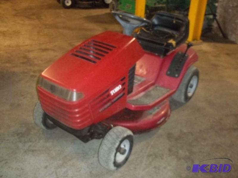 Toro Wheel Horse Riding Lawn Mower Ml Commercial Sprayer Trailer Golf Cart K Bid