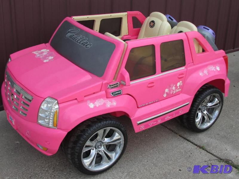 Power Wheels Cadillac Escalade >> Fisher Price Power Wheels Pink Cadillac Escalade Without