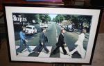 The Beatles Abbey Road Poster Framed and matt...
