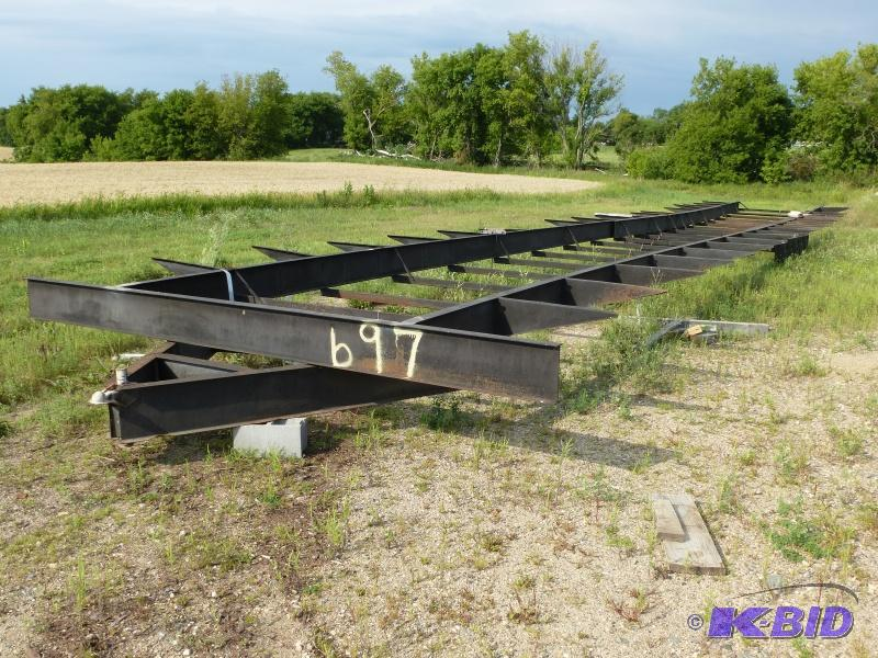 Trailer house frame: 5 axle trailer 60 -70\' l... | NCS RV & Truck ...