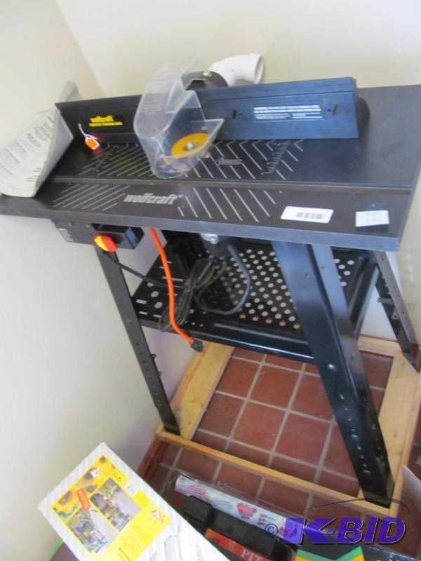Man Cave Inventory Reduction Tool Hardware Auction 05 K Bid: pro tech table saw
