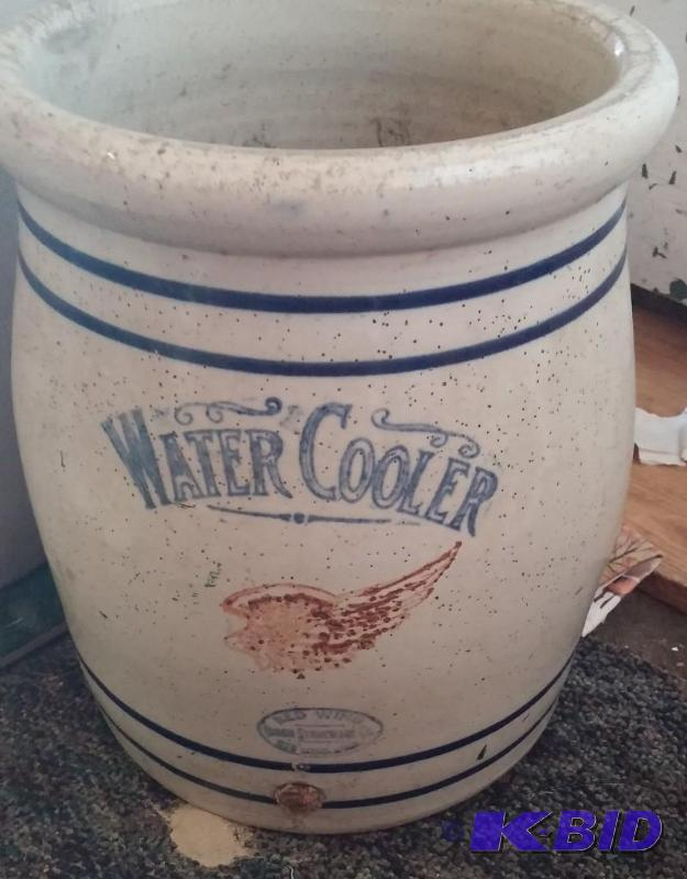 Extremely Rare 5 Gallon Red Wing Water Cooler Rare
