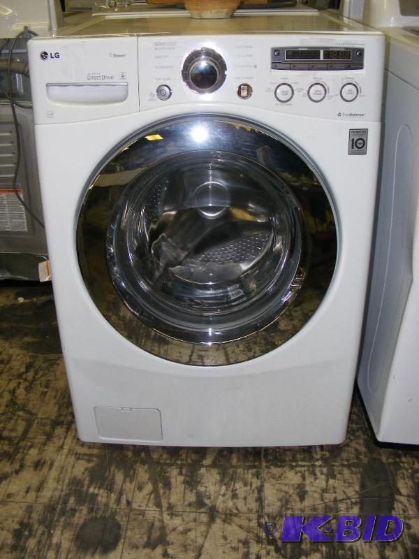 LG Washer WM2650HWA Unit has some dings, dent    | LG Scratch and