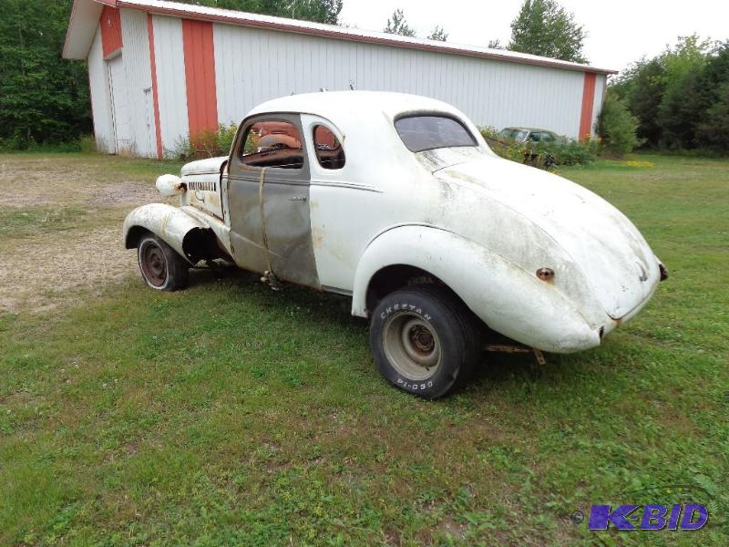 Chevrolet Parts Hibbing >> 1938 Chevrolet Master Deluxe White Exterior&n... | North Auction Vehicles and Ceiling Tile ...