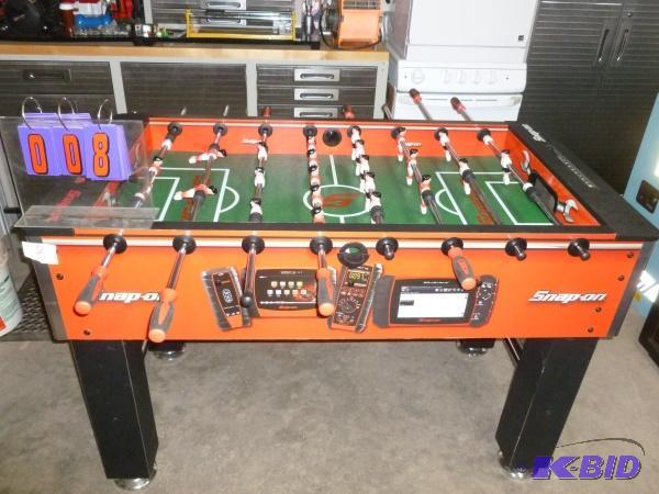 Snap On Foosball Table In Very Good Condition SnS Auctions - Where to buy foosball table