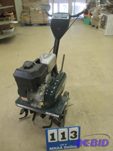 Craftsman 5 Hp 24 Front Tine Tiller September Estate 4 Featuring New In Box Items K Bid
