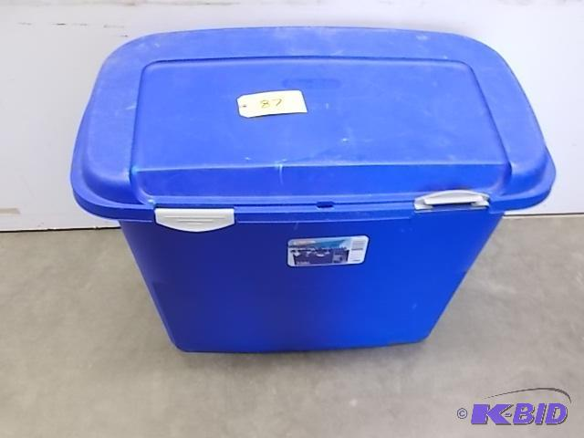 Sterilite 50 Gallon Storage Locker Cracked T Elko September