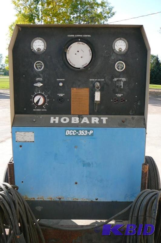 Rpm To Hz >> Hobart Arc Welder Model # DCC-353-P *Dut... | Kan-Do ...