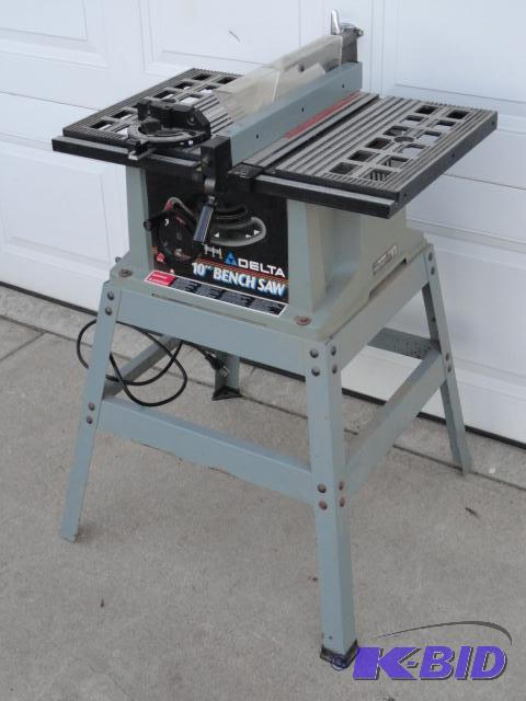 Delta 10 Quot Bench Saw Model 36 540 Type 2 Fabricating