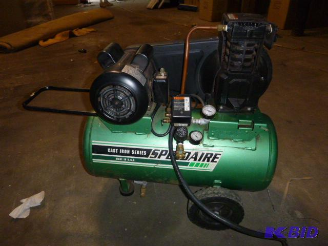 Speedaire Cast Iron Series Air Compressor Mod