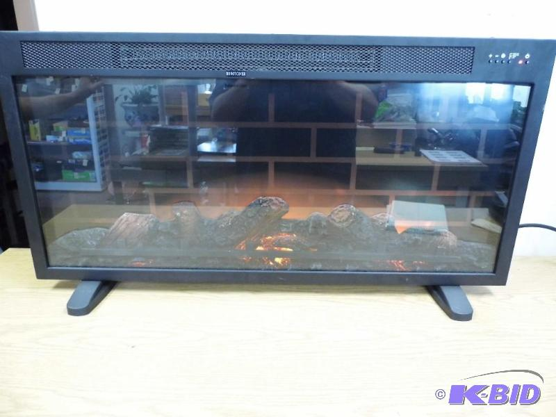 Febo Flame Electric Fireplace | October #3 Consignment | K-BID