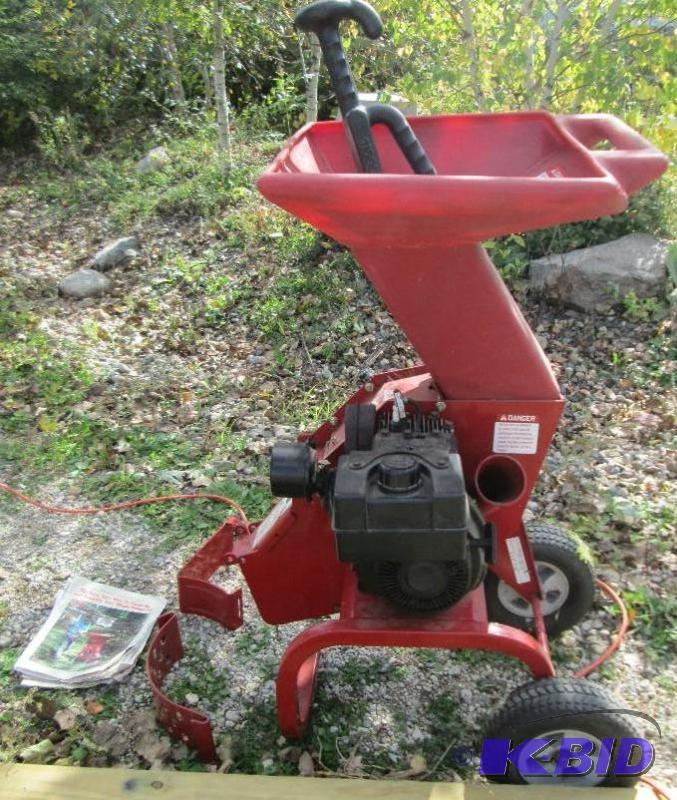 Troy Bilt Chipper Shredder Junior Tomahawk Tools Hardware Yard Household Collector Construction More K Bid