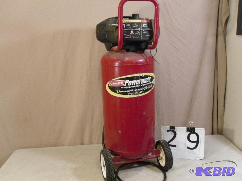 Coleman Powermate 11 Gallon 5 5 Hp 120 Volt A