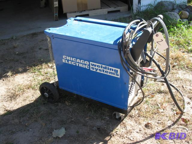 Chicago Electric Dual mig 171 welder on caste... | FMGS 38 ...