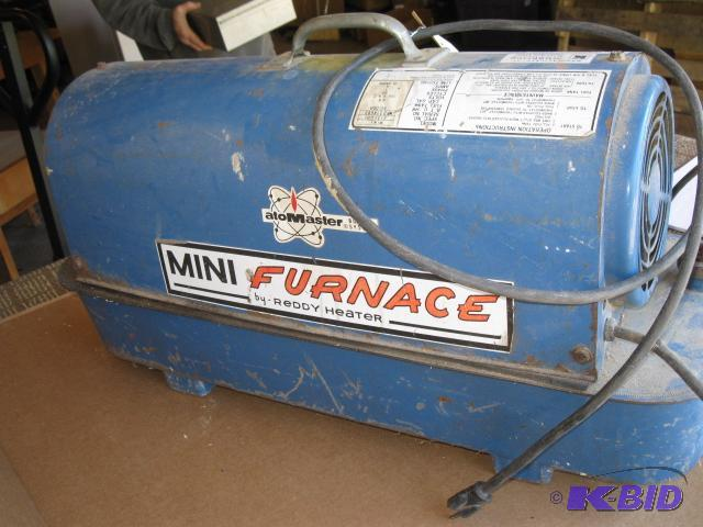 Mini Furnace by Reddy Heater, 50,000 BTU, did    | FMGS 38