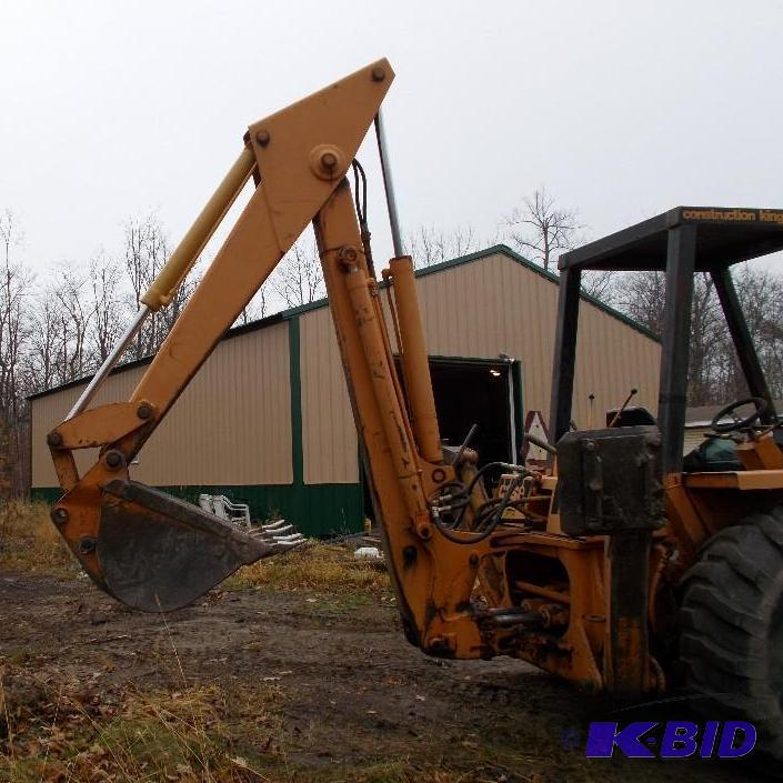 1974 Case 580b Construction King Tractor