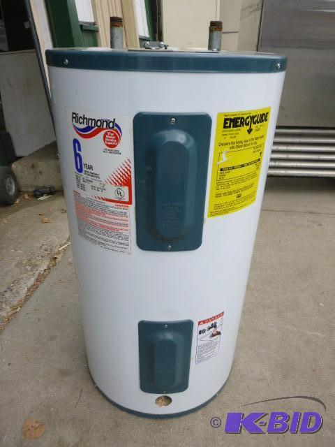 Richmond 30 Gallon Electric Hot Water Heater Northstar Kimball Restaurant Equipment K Bid
