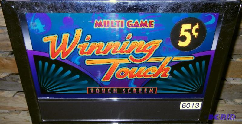 "Keno To Go >> VLC 8825 ""WINNING TOUCH"" MULTI-GAME UPRIGHT VIDEO SLOT MACHINE 