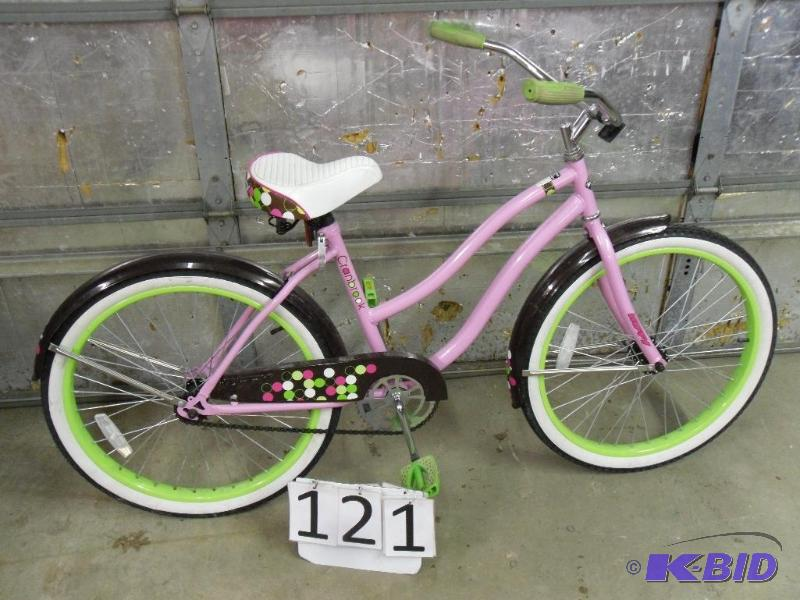 Huffy Cranbrook Girls Beach Cruiser Bike Electronics Tools Collectibles Household More K Bid