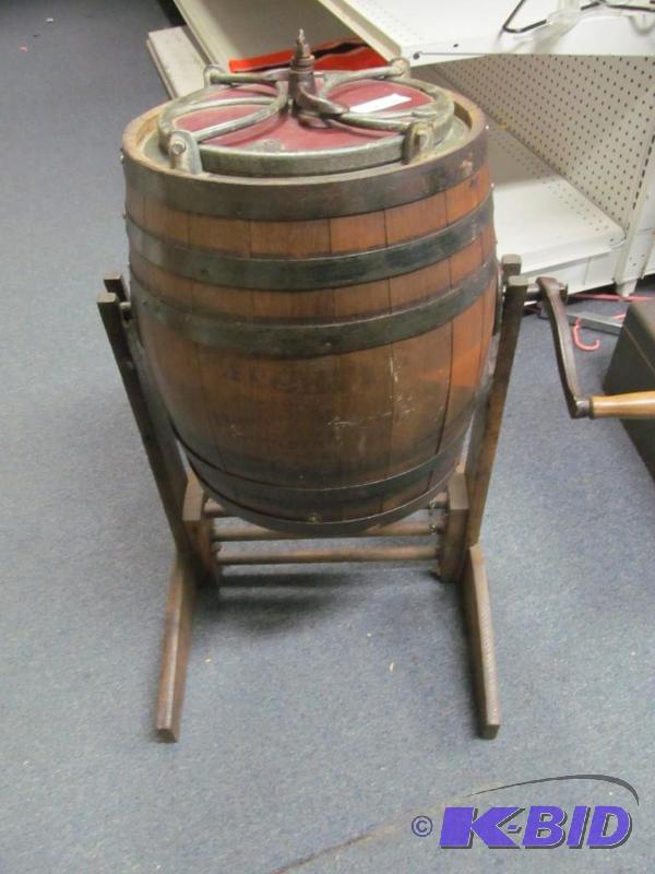 Man Cave Products : Antique butter churn man cave consignments inventory
