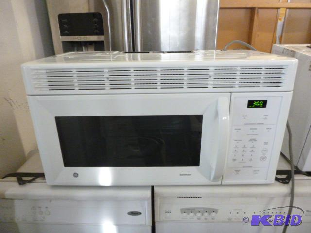 Ge Spacemaker Over The Range Microwave Model