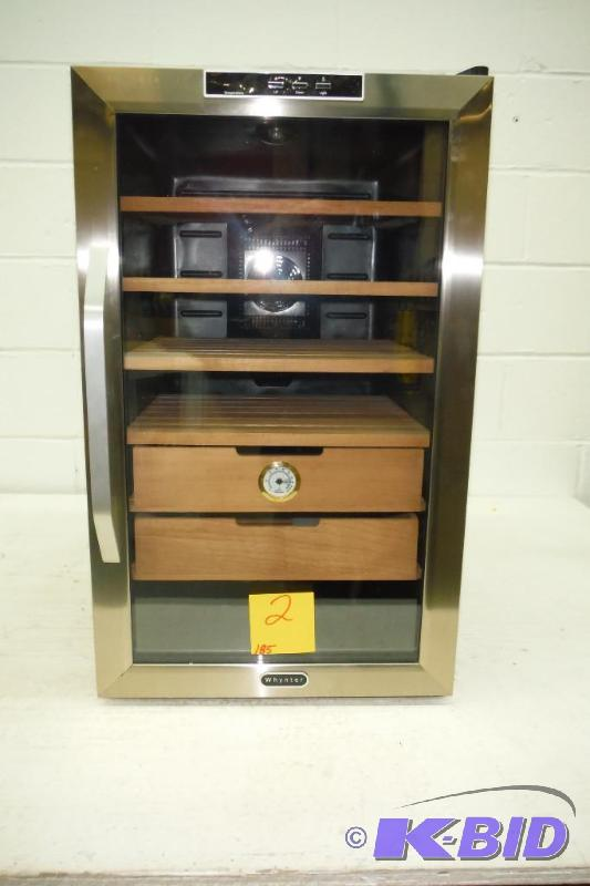Whynter Chc 251s Stainless Steel Cigar Cooler Humidor 2 5