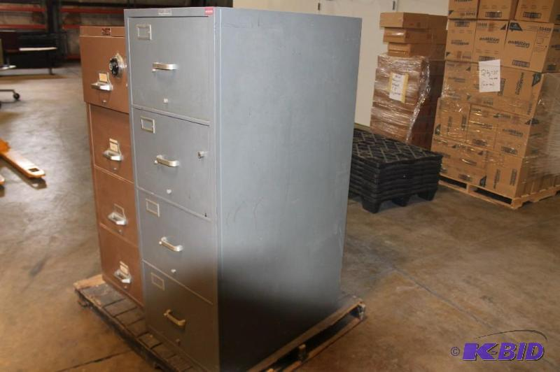 Superb Herring Hall Marvin Safe Company Fire Proof File Cabinet | February  Consignment #1 | K BID