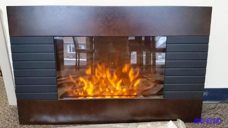 Home Easy 1500 Watt Wall Mount Electric Fireplace. New out of Box ...
