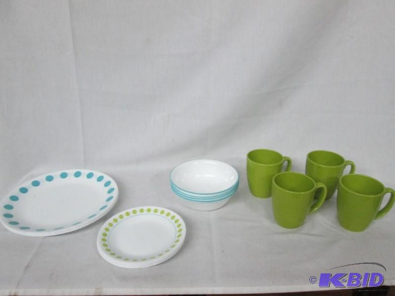 Corelle South Beach 16-pc. Dinnerware Set | February Appliances Store Returns and Consignments #5 | K-BID : corelle 16 pc dinnerware set - pezcame.com