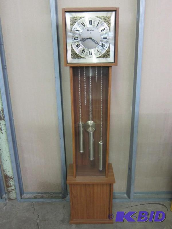 Imitation Bentley Ix Grandfather Clock M A Williams