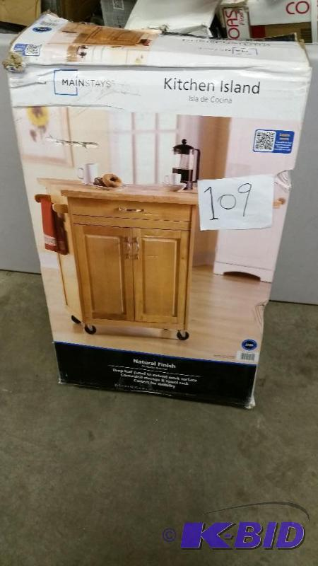 Mainstays Kitchen Island Cart | KX Real Deals - Lots ...